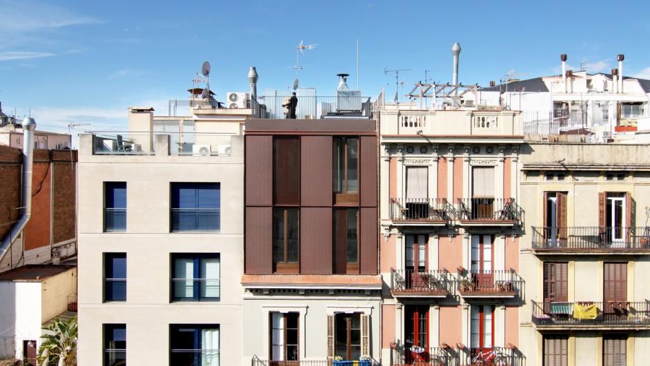 La casa por el tejado Bacelona