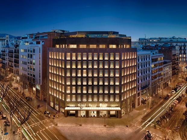 fachada de One Hotel en Barcelona