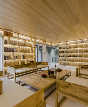 reforma casa de madera como un tamiz en Pekin diariodesign