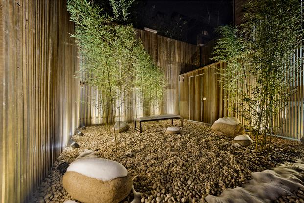 patio casa de madera en Pekin de archstudio diariodesign