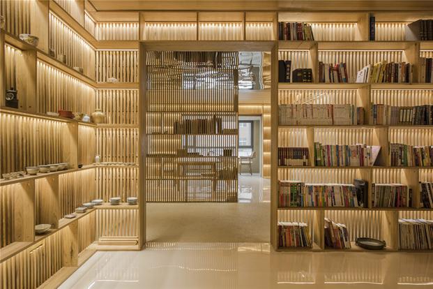 interior reforma casa de madera en Pekin diariodesign