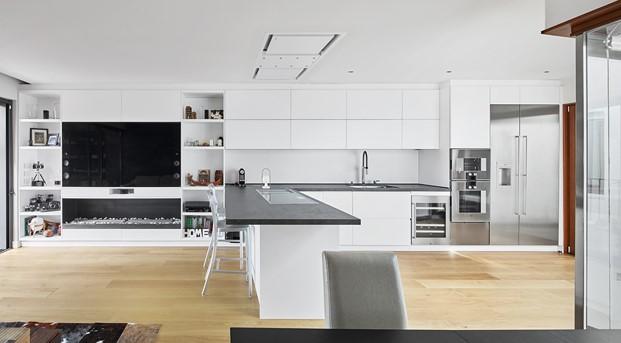 cocina de La casa por el tejado Barcelona