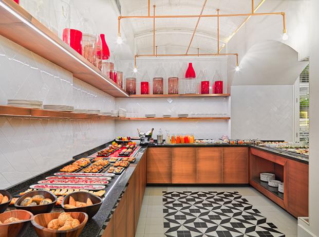 Lazaro Rosa Violan H10 Cubik buffet hotel barcelona diariodesign