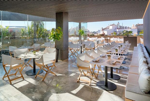 Moo restaurante en terraza de One Hotel en Barcelona