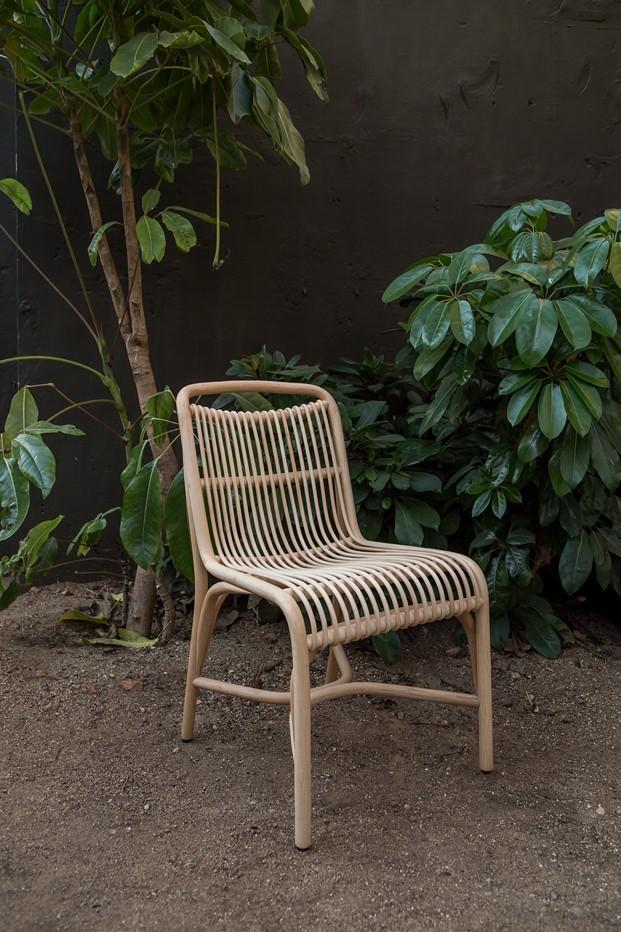 silla de cana natural gata exterior Expomim diariodesign