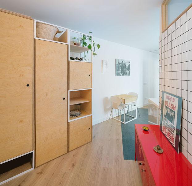 reforma casas pequenas en madrid de PYO arquitectos