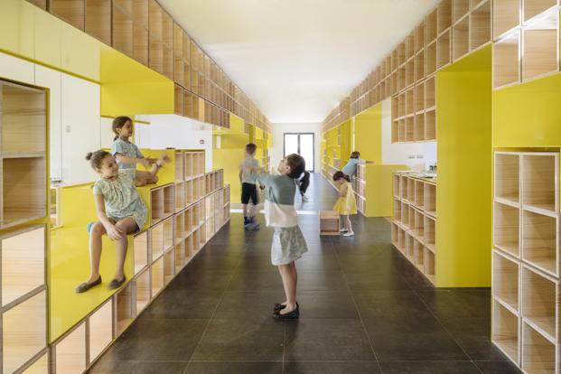 rica estudio disena nueva escuela english for Fun en Madrid diariodesign