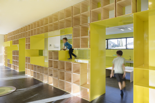 diseno nueva escuela english for Fun en Madrid diariodesign
