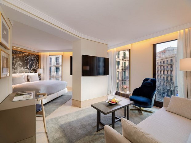 The One Hotel mobiliario de citterio y Charles y Ray Eames