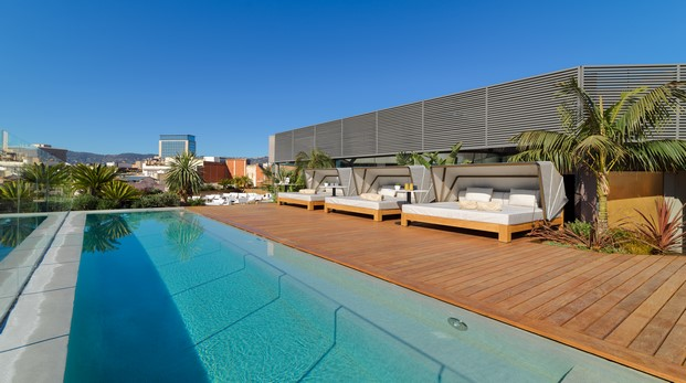 Piscina en Moo terraza del One Hotel