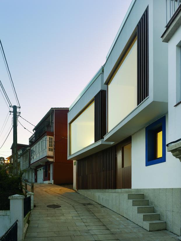 imagen de las Viviendas en Redes de Diaz y Diaz Arquitectos