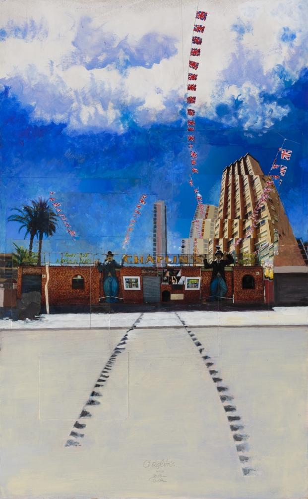 Gran Benidorm Oscar Tusquets Blanca London Art Biennale in Chelsea diarioDesign