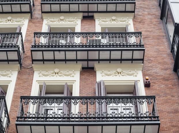 casa decor 2017 en Madrid detalle del edificio de 1900 en el barrio de los jeronimos