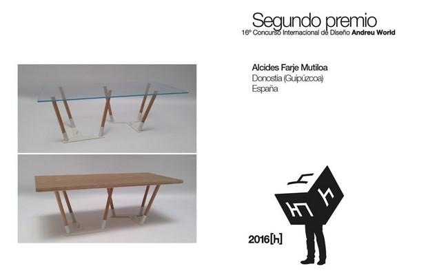premio Concurso Andreu World 2016