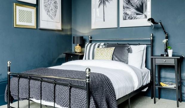 dormitorio de apartamento en londres de hostmaker airbnb diariodesign
