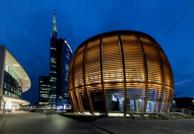 Unicredit Milano vista exterior del edificio en Milan en diariodesign
