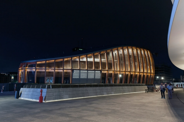 Edificio Unicredit Milano Michele De Luichi proyecto de erco