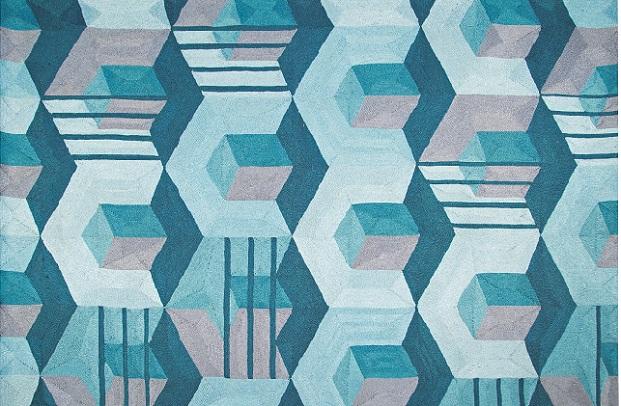 alfombra de Eric Gizard para Roche Bobois en diariodesign