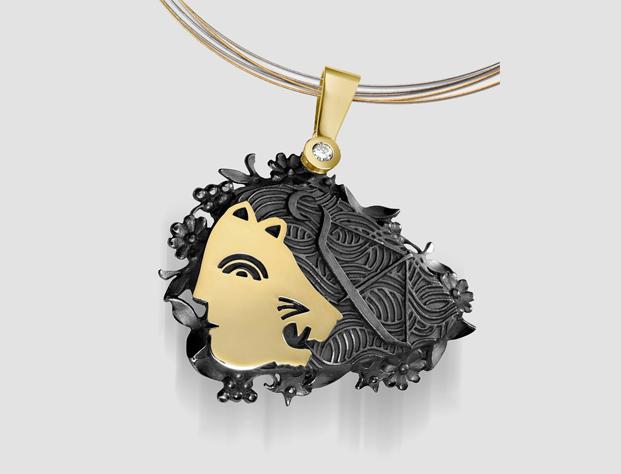 joyas  milton glaser para Ars Signum Jewelers  diariodesign