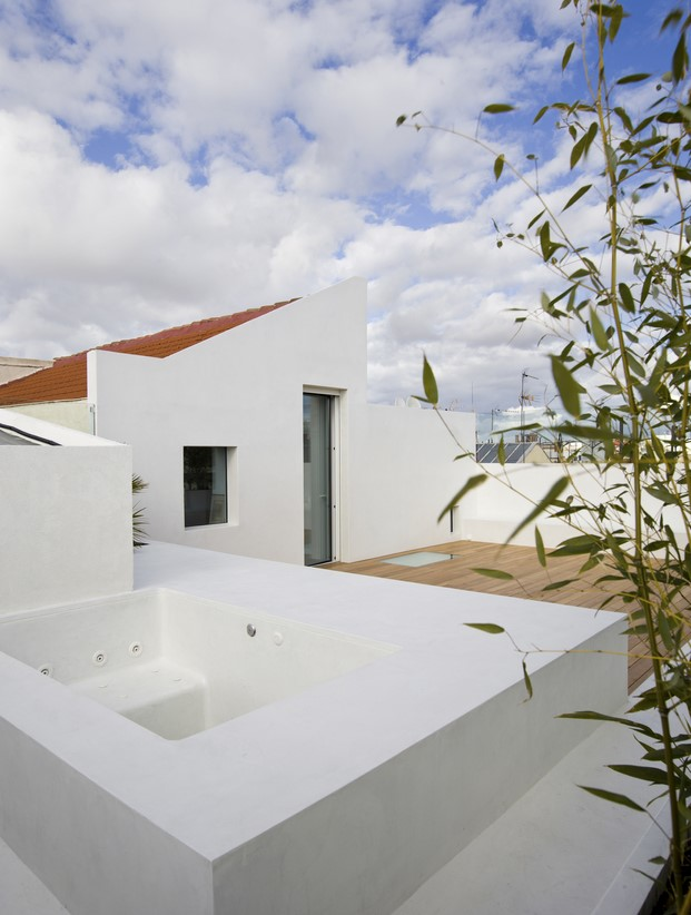 casa madrid jacuzzi terraza diariodesign