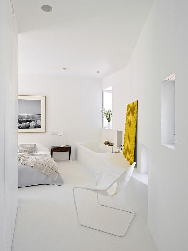 casa dormitorio en madrid abaton batavia diariodesign