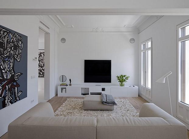 apartamento madrid abaton lampara vibia diariodesign