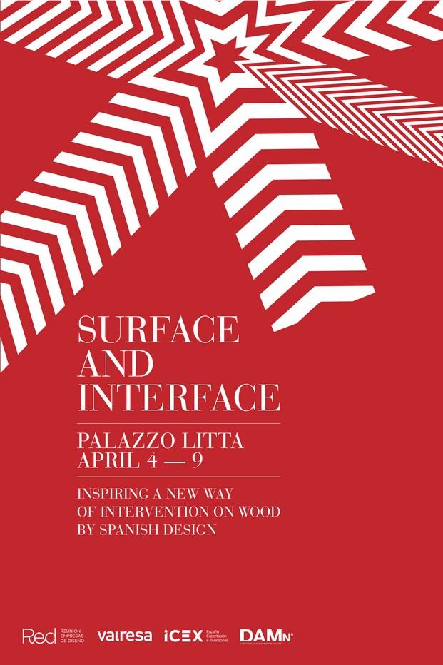 cartel superficies and interface en palazzo litta milan 2017