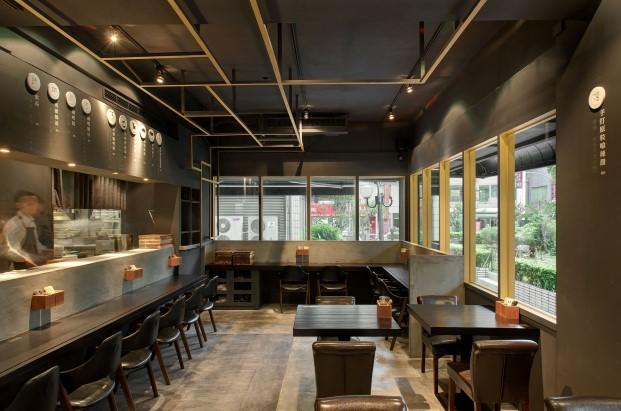 restaurante asiatico minimalista Cari de Madame en Singapur curry diariodesign