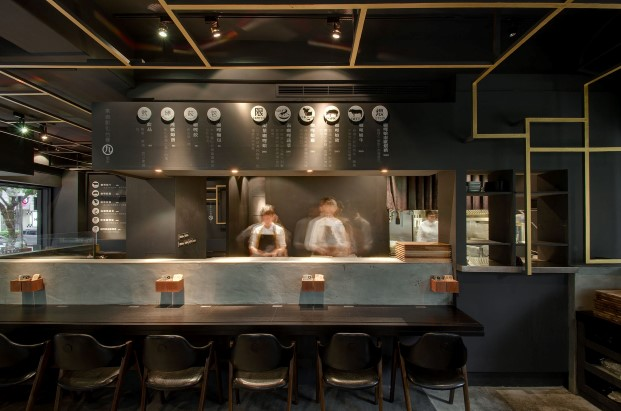 restaurante asiatico minimalista Cari de Madame en taipei diariodesign