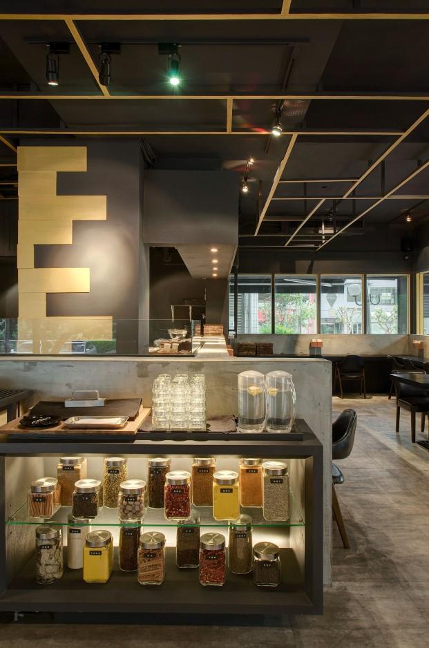 restaurante asiatico minimalista Cari de Madame en Singapur DIARIODESIGN 7