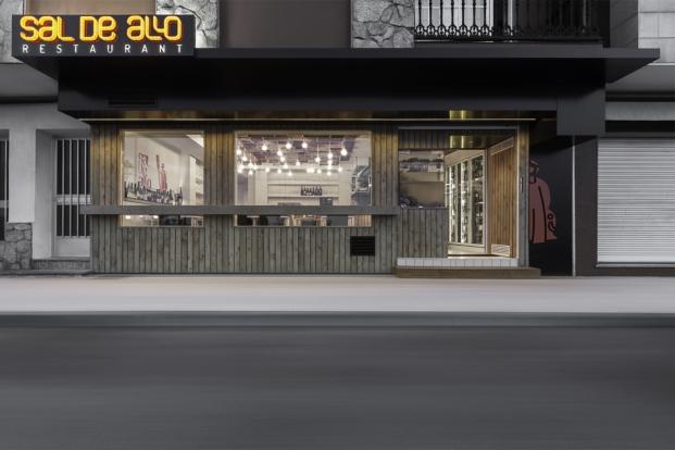 Restaurante sal de allo en pontevedra de nan arquitectos