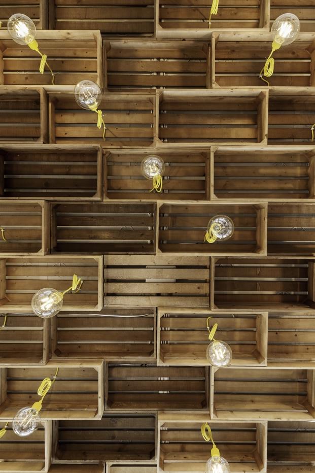 lamparas de nan arquitectos en retaurante sal de allo pontevedra diariodesign