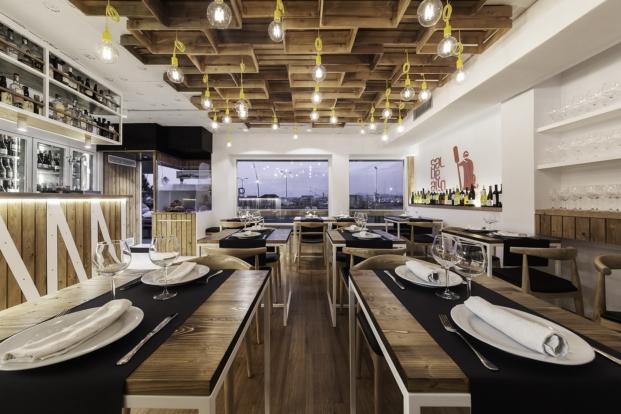 interior restaurante marinero sal de allo o grove pontevedra nan arquitectos diariodesign
