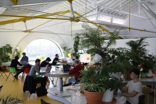 espacio coworking secondhome en lisboa