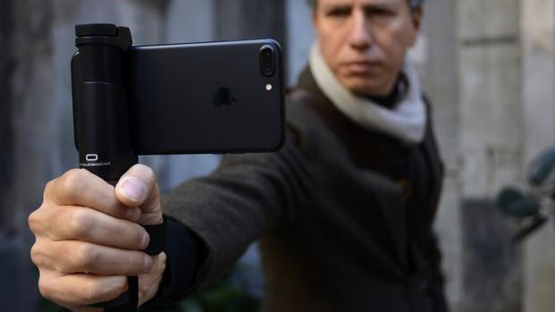 grabar video con smartphone shoulderpod en diariodesign