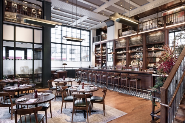union square cafe en new york rediseño del arquitecto david rockwell