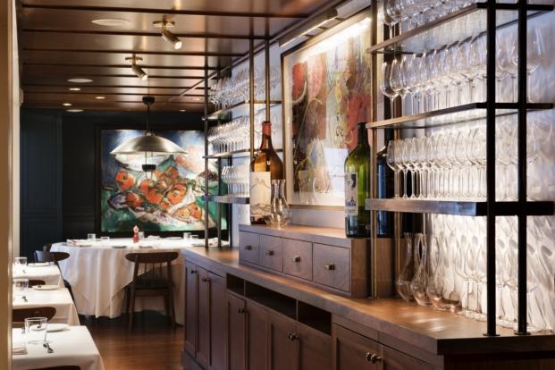 interior de restaurante en Manhattan union square cafe interiorismo de david rockwell