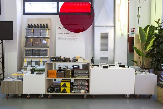 tienda de Assemble ADO shop en Miniliving Milano 2017 diariodesign