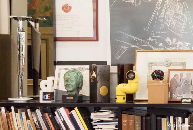 detalle del estudio de Andre Ricard diseñador industrial en gente Slowkind para Diariodesign