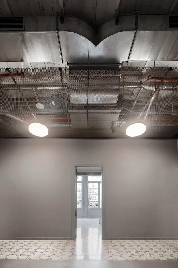 iluminacion en aparthotel en calle AUSIASMARCH por Tomas Lopez Amat y Gorka Marcuerquiaga barcelona diariodesign