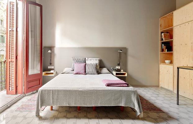 room en aparthotel en calle ausias march en barcelona diariodesign