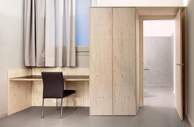 escritorio del aparthotel en eixample barcelona diariodesign