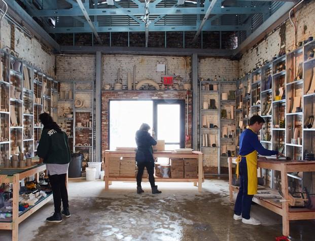 taller de la fabrica Assemble Collective ADDO New York taller disenadores espanoles jovenes talentos en diariodesign