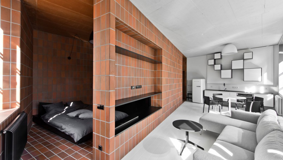 Bazillion Apartment YCL Studio apartamento Vilnius Lituania diariodesign