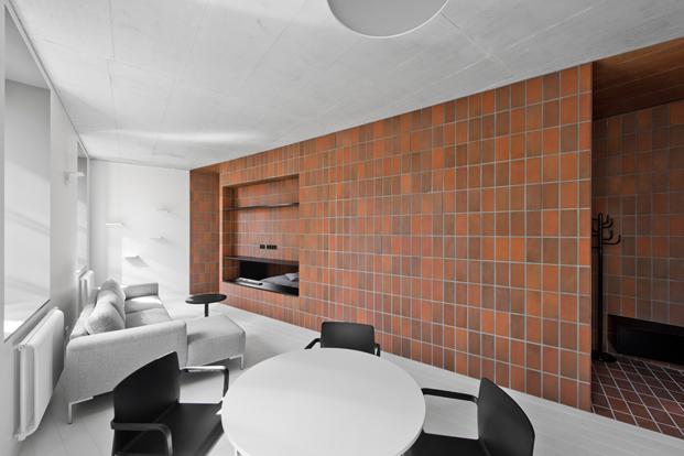 Bazillion Apartment de YCL Studio apartamento en Vilnius diariodesign