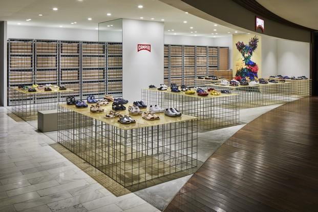 tienda To&ether de CAMPER en Tokyo diariodesign