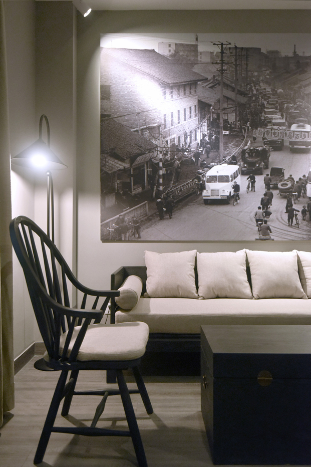 City Inn hotel Chu Chih Kang en China galeria de arte diariodesign