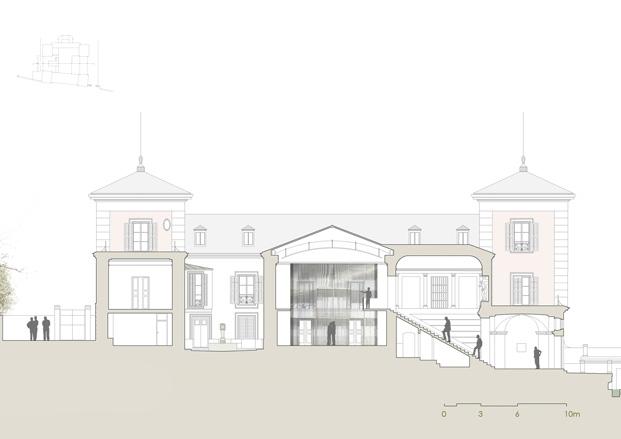 Museo del Palacio El Capricho de Cuarq Arquitectos en centrocentro cultura en madrid
