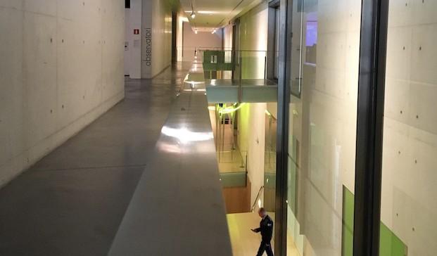 Interior Es Baluard museo de arte moderno de palma de mallorca