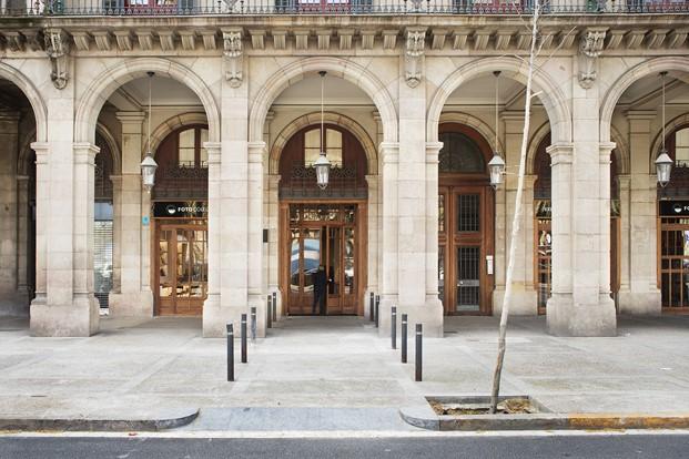 exterior sede foto colectania born barcelona diariodesign
